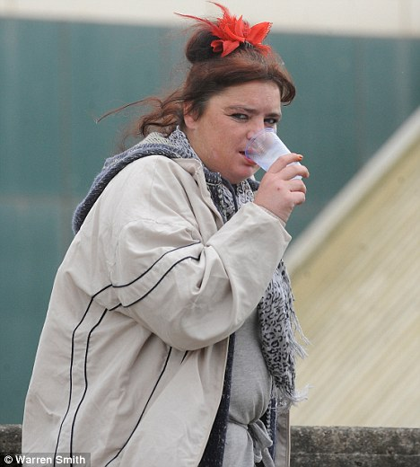 Blackpool centaph woman urinate sex act